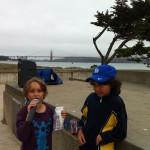Gidi and Rafi Batya.Run for Teachers 2012.July 15 2012.SF