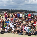 Group photo for Run for Teachers.2015