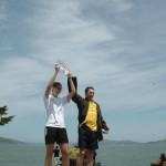 Steven Lurie.presenting women #1 trophy.RFT.5.22.11.v1