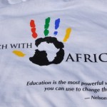 Teach With Africa on t-shirt.RFT.5.22.11.v1